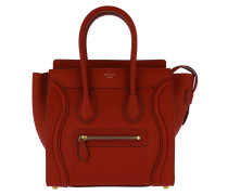 Micro Luggage Tote Red