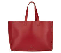 Tasche - Ruga Calf Leather Shopping Bag Red