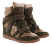 Bekett Sneakers Suede Khaki Sneakers