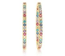 Ohrringe Bovalino Earrings Multicoloured Zirconia