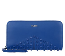Kleinleder - Gommino Zip Around Wallet Blue