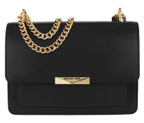 Umhängetasche Jade Large Gusset Shoulder Bag Black