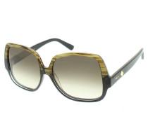 Sonnenbrille - 614S 320 Striped Khaki