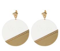Ohrringe Earrings White/Tribute Gold