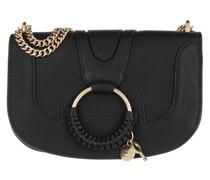 Umhängetasche Hana Crossbody Bag Leather Black