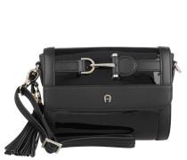 Tasche - Cavallina Clutch Patent Leather Black