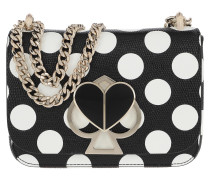 Umhängetasche Nicola Embossed Small Convertible Chain Shoulder Bag Black Multi