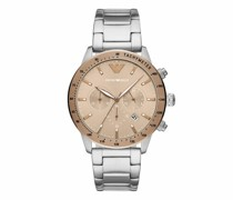 Uhren Men Chronograph Stainless Steel Watch