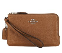 Pochette Womens SLGs Small Wristlets Saddle
