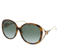 Sonnenbrille GG0226SK-004 60 Sunglass WOMAN INJECTION HAVANA