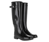Boots Women's Original Refined Glossy Rubber Black