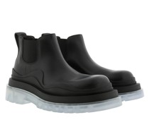 Boots Tire Ankle Boot Vegetal Calfskin Black Blue