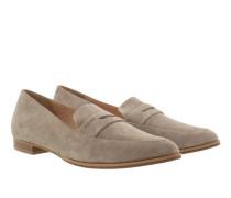 Ismene Suede Loafer Beige Schuhe beige