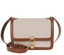 Crossbody Bags Carre Satchel Canvas/Leather