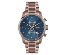 Uhr Men Chronograph Skymaster Brown