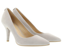 MK-Flex Mid Pump Suede Pearl Grey Pumps