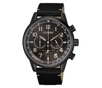 Uhr Chronograph Wristwatch Black