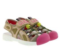Sandalen Sandals Leather/Mesh Beige