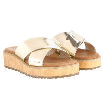 Sandalen - Tabea Low Wedge Gold