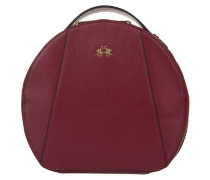 Kleinleder - La Portena Beauty Case Burgundy