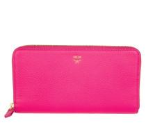 Kleinleder - Milla Large Zip Around Wallet Beetroot Pink