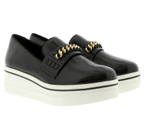 Binx Loafers Patent Black Schuhe