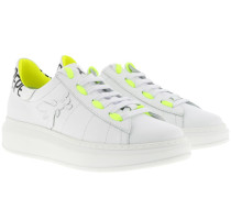 Sneakers Shoes White/Yellow
