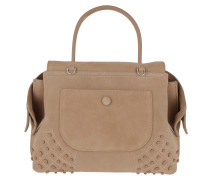 Shoulder Bag Wave Mini Gommino Soft Miami Nocciola Medio