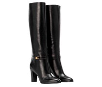 Boots Claude High Leather Black