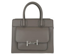 Double T Bag Tote Grey