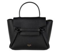 Umhängetasche Pico Belt Shoulder Bag Leather Black