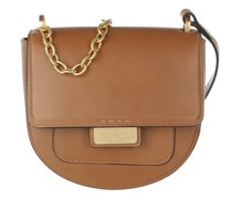 Crossbody Bags Small Chained Strap Flap Bag Leather