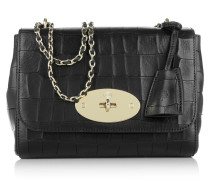 Tasche - Lily Crossbody Deep Embossed Croc Print Black
