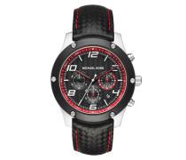 Armbanduhr - Jet Master Black-Tone Carbon Fiber Watch