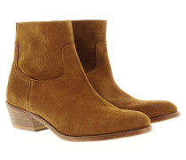 Boots & Booties - Teddy Suede Boots Tan