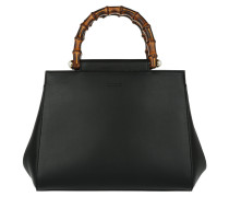 Nymphaea Satchel Bag Black schwarz