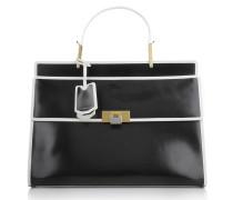 Tasche - Le Dix Zip Cartable Black/White