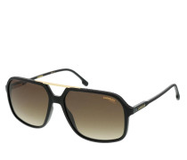 Sonnenbrille CARRERA 229/S Sunglasses Black Brown Opal