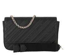 Umhängetasche Bond Pouch Chain Strap Leather Black