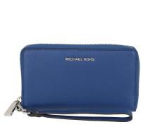Portemonnaie Large Flat Multifunctional Phone Case Wallet Sapphire