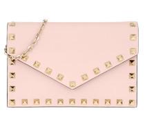 Umhängetasche Rockstud Envelope Shoulder Bag Leather Rose Quartz