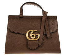 Marmont GG Tophandle Brown Satchel braun