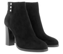 Viola Ankle Boot II Suede Black Schuhe schwarz