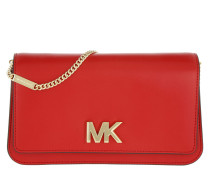 Mott Large Clutch Bright Red