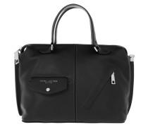 The Edge Satchel Bag Black