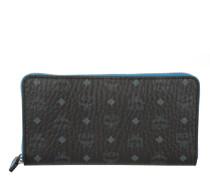 Kleinleder - Color Visetos Large Zip Around Wallet Black