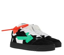 Sneakers Low Black Green