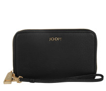 Alena Wallet Nature Grain Black