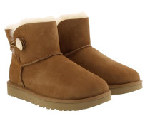 Boots Mini Bailey Button Bling Boot Chestnut Gold