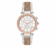 Uhr Parker Chronograph PVC Leather Watch